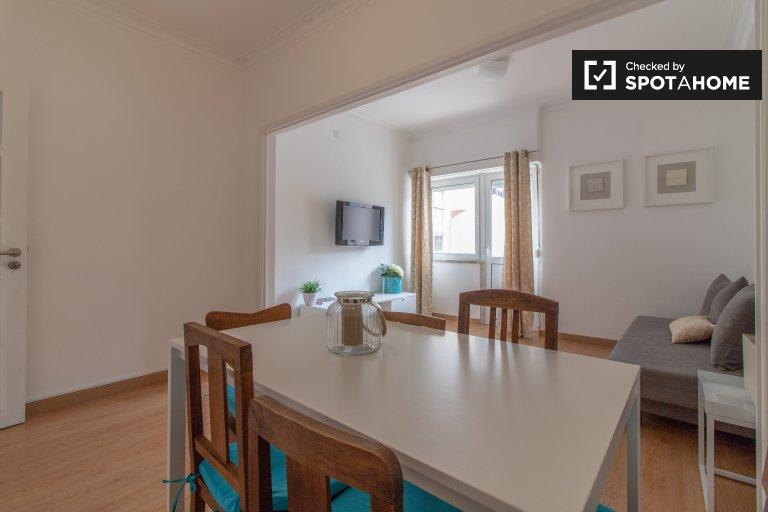 Apartamento de 2 quartos para alugar em Areeiro, Lisboa