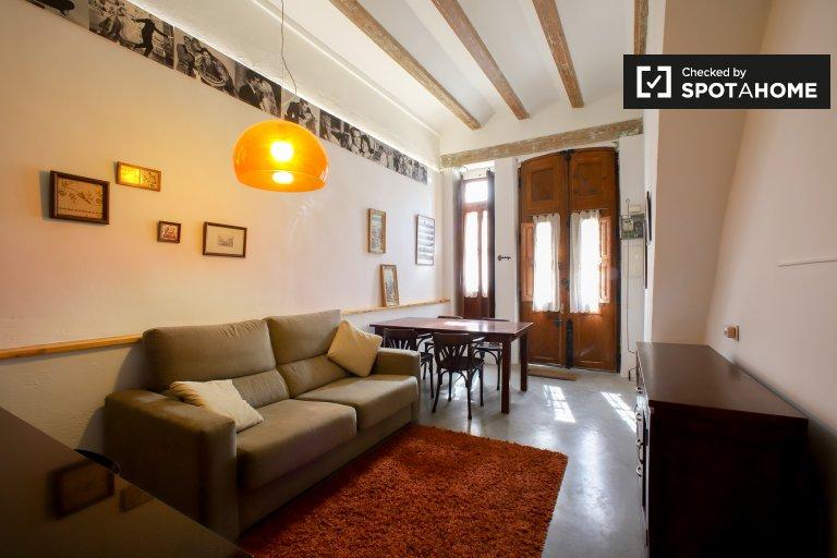 1-pokojowe mieszkanie do wynajęcia w Cabanyal, Valencia