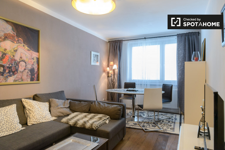 Beautiful 1-bedroom apartment for rent in Mariahilf, Vienna