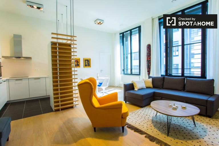 appartement 1 chambre à louer à Bruxelles Centre Ville