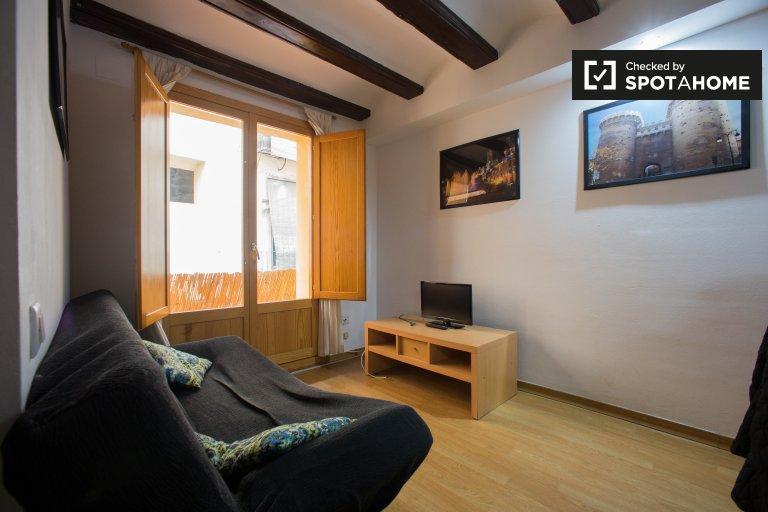 Studio appartement à louer à Ciutat Vella, Valence