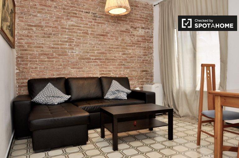 2-pokojowe mieszkanie do wynajęcia w Poble Sec, Barcelona