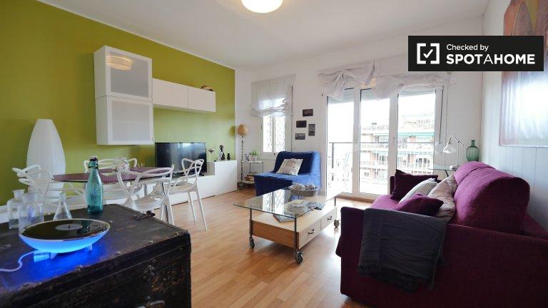 Modern 3-bedroom apartment in Sant Marti, Barcelona