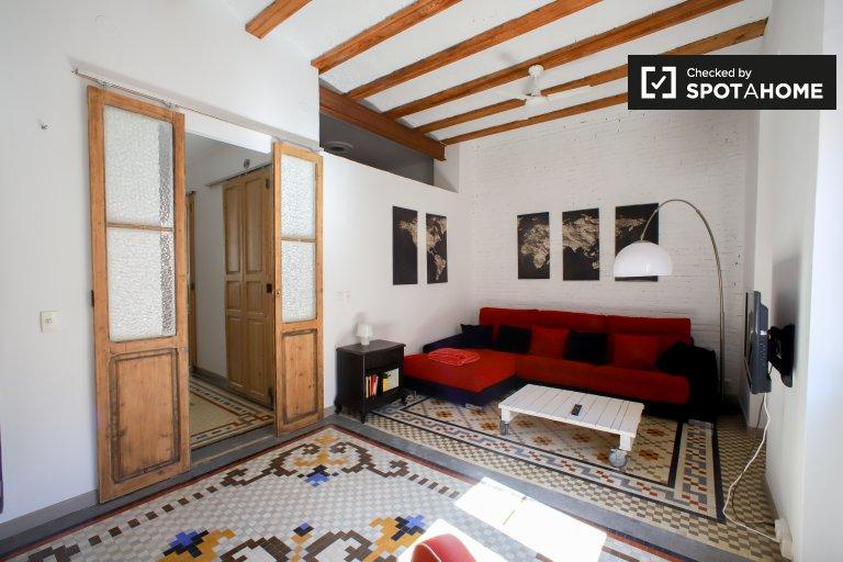 Einzigartige 2-Zimmer-Wohnung zur Miete in La Saïdia, Valencia