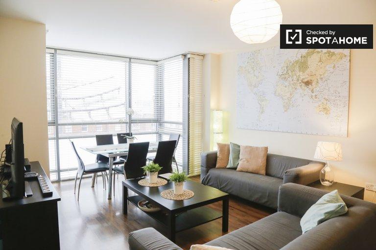 Nowoczesne mieszkanie z 2 sypialniami do wynajęcia w Stoneybatter w Dublinie