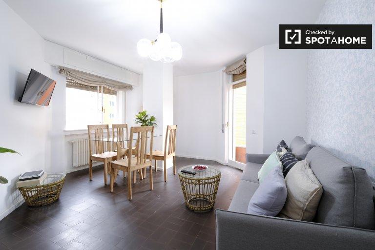 Luftige 1-Zimmer-Wohnung zur Miete in Trafalgar, Madrid