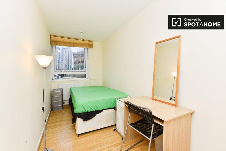 Excellente chambre dans un appartement partagé à Isle of Dogs, Londres