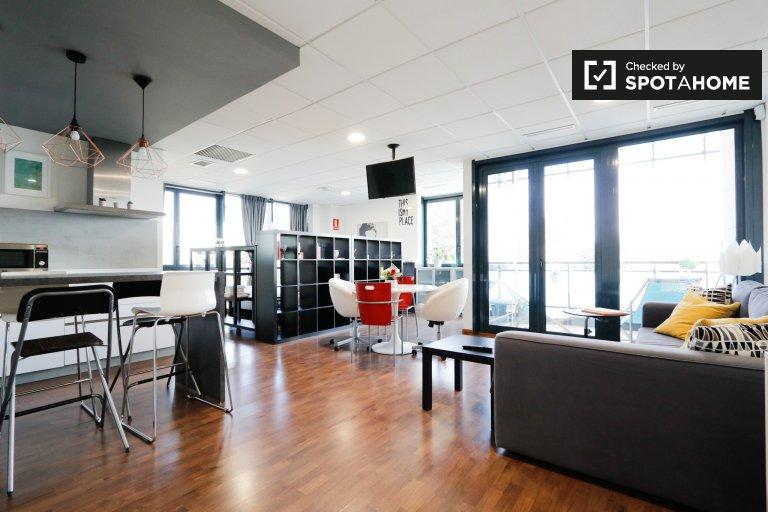 Helle Studio-Wohnung zu vermieten, San Sebastián de los Reyes