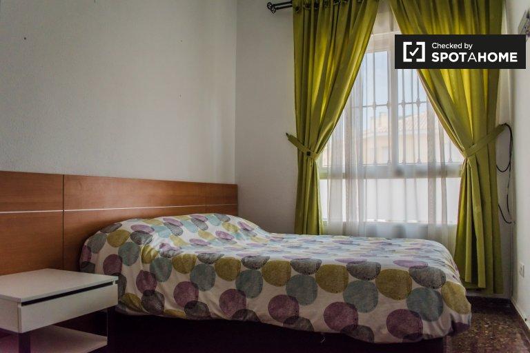Chambre confortable à louer à Benimaclet, Valence