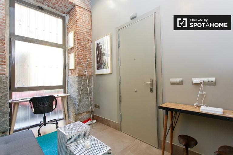 1-Zimmer-Wohnung mit Dachboden zu vermieten in La Latina, Madrid