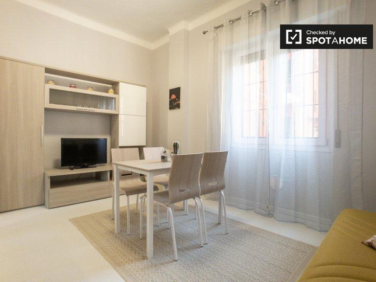 Bonito apartamento con 1 dormitorio en alquiler en Lambrate, Milán