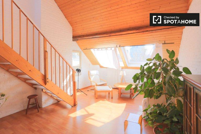 Apartamento de estúdio para alugar em Bairro Europeu, Bruxelas