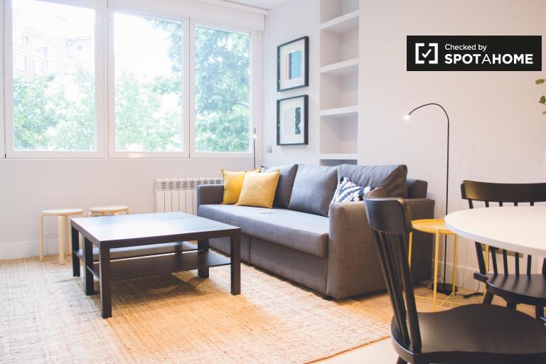 Modern 1-bedroom apartment for rent in Prosperidad, Madrid