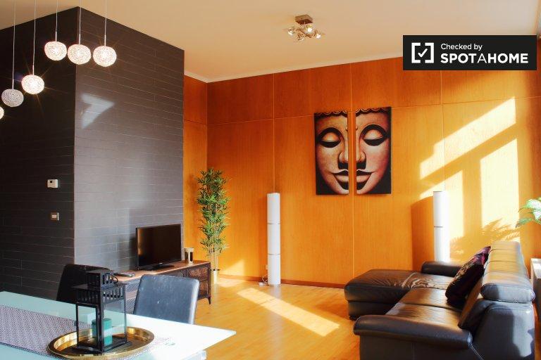 2-pokojowe mieszkanie do wynajęcia w centrum Brukseli