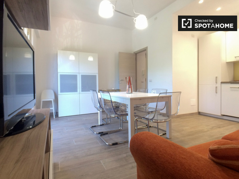 Modern 2-bedroom apartment for rent in Portuense, Rome