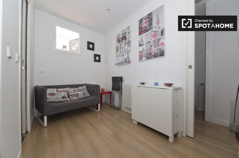 Furnished 1-bedroom apartment for rent in Malasaña, Madrid