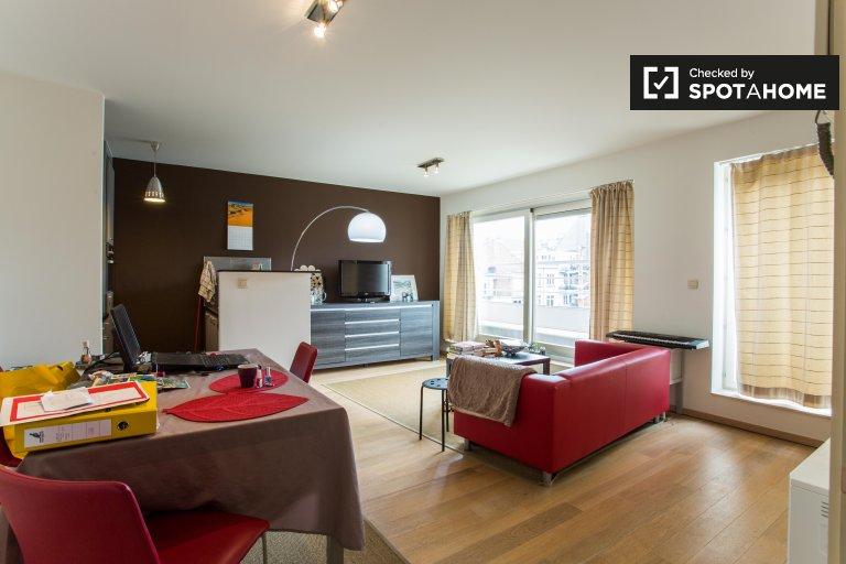 Fabulous 1-Zimmer-Wohnung zur Miete in Etterbeek, Brüssel