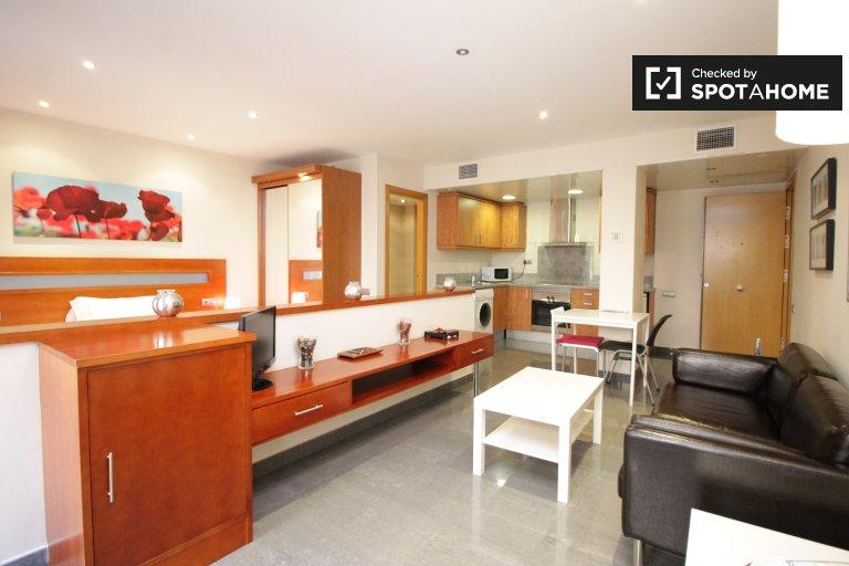 Piękny apartament typu studio do wynajęcia w El Raval, Barcelona