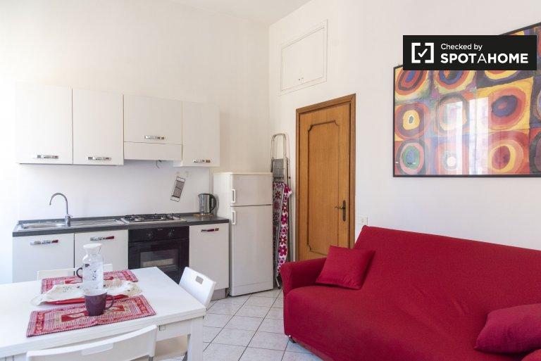 Roma, Prati'de kiralık 1 yatak odalı rahat daire