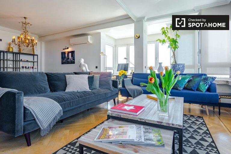3-bedroom apartment for rent in Retiro, Madrid