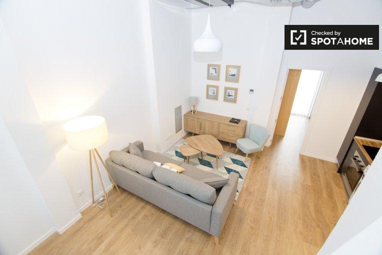 Arganzuela, Madrid'de kiralık modern 2 yatak odalı daire