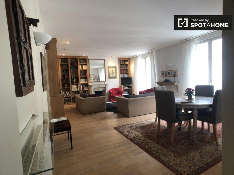 Apartamento de 2 quartos para alugar no 18º arrondissement, Paris