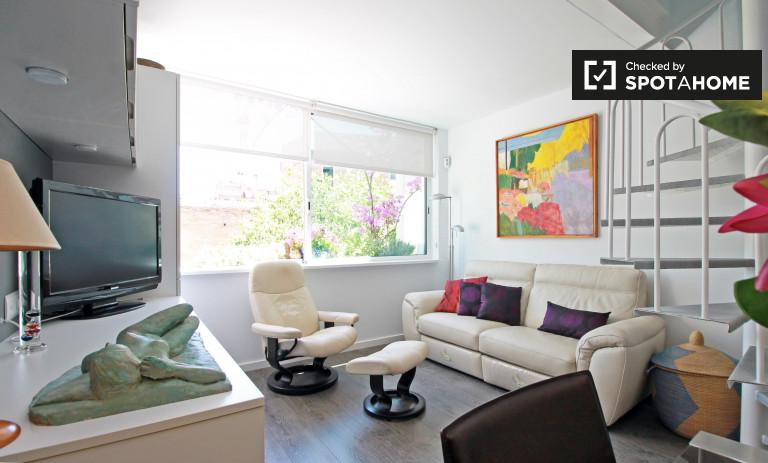 Elegante apartamento de 2 dormitorios en alquiler en Gràcia, Barcelona