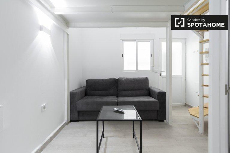 Studio simple à louer à Usera, Madrid