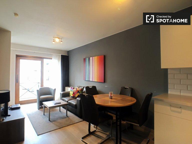 1-pokojowe mieszkanie do wynajęcia w Dzielnicy Europejskiej w Brukseli