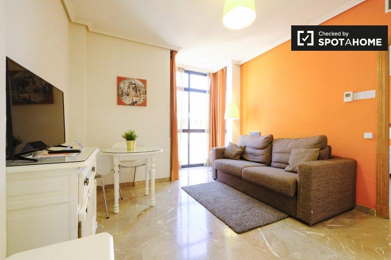 Apartamento em uma residência para alugar em Tetuan, Madrid