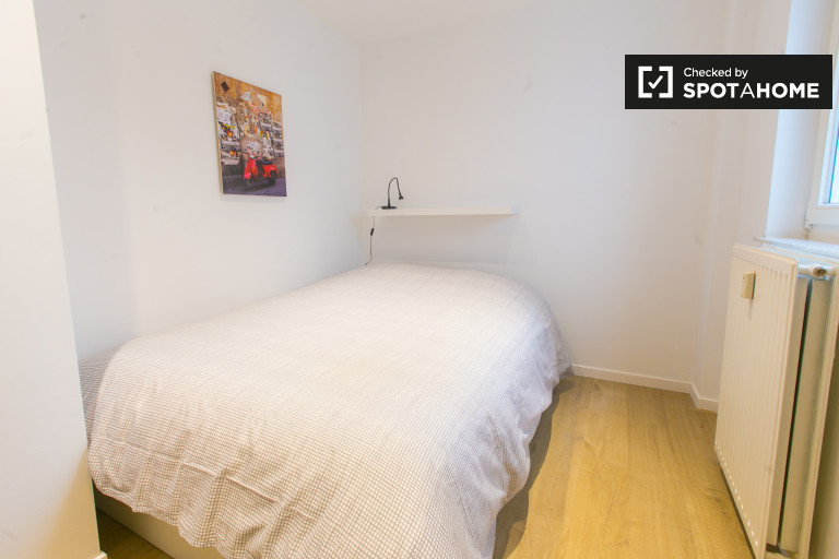 Intimate room in shared apartment, Brussels City Centre