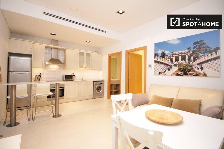 Beautiful 1-bedroom apartment for rent in El Born, Barcelona
