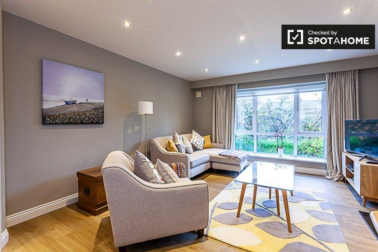 Stilvolle 2-Zimmer-Wohnung zu vermieten, Ballsbridge, Dublin