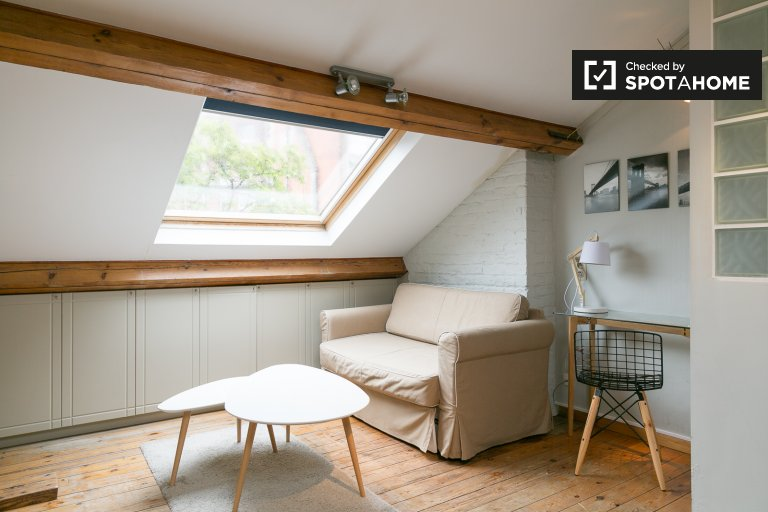 Chic and stylish 1-bedroom apartment to rent in Schaerbeek