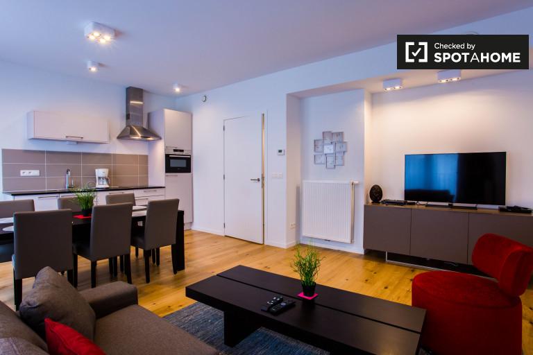Moderne 1-Zimmer-Wohnung zur Miete in Brussels City Centre