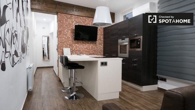 Slick appartement de 2 chambres à louer à Centro, Madrid