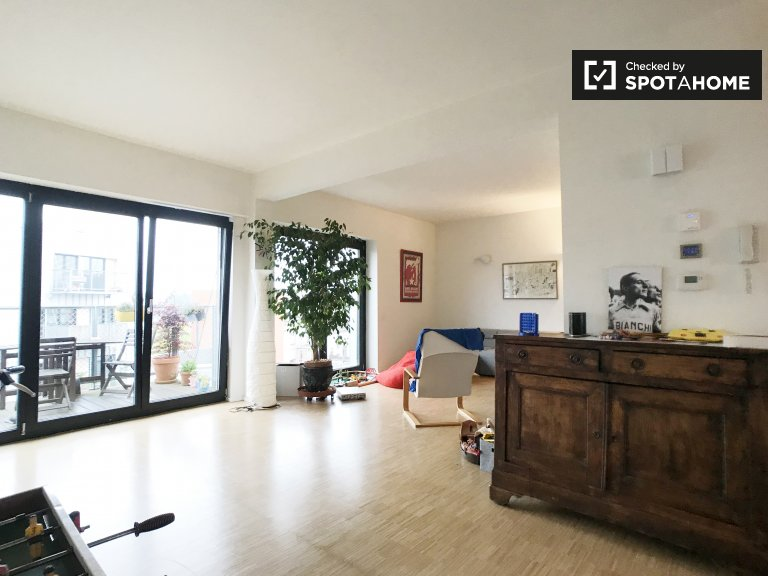 4-bedroom apartment for rent in Forest, Brussels