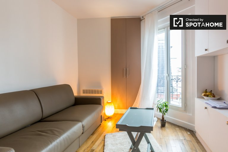 Studio apartment for rent in Saint-Mandé, Paris