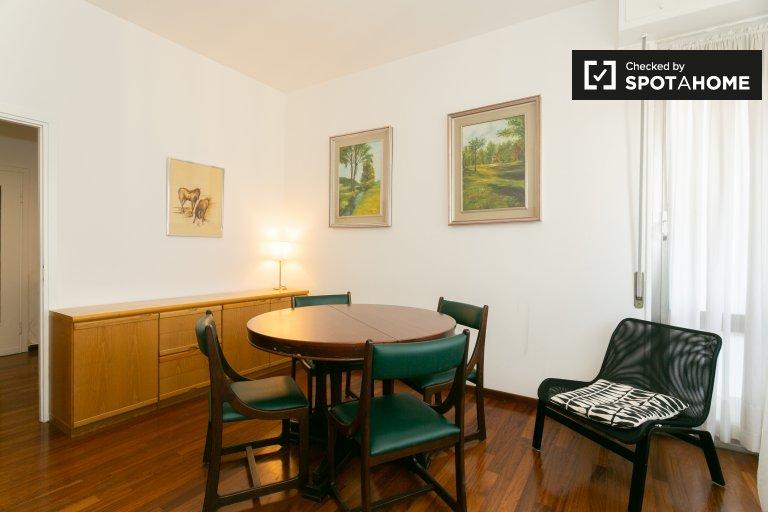 Apartamento com 2 quartos para alugar em Primaticcio, Milão