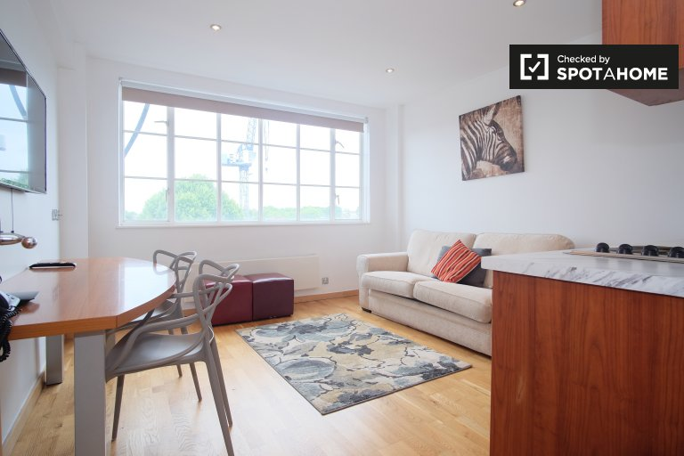 2-bedroom apartment with gym to rent in Kensington, London