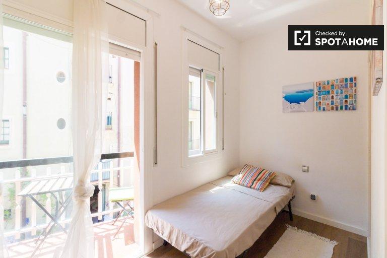 Kiralık oda, 4 yatak odalı daire, trendy El Born, Barcelona