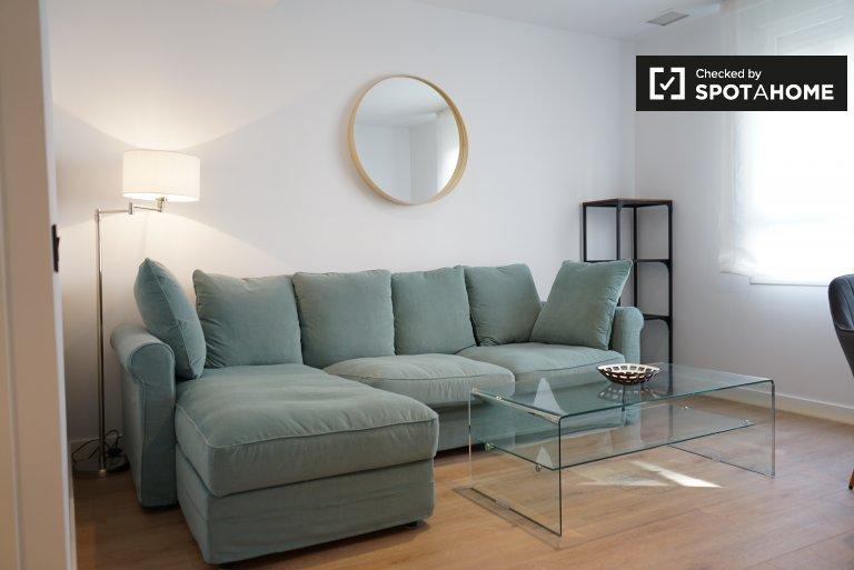 Apartamento de 1 quarto elegante para alugar em Prosperidad, Madrid