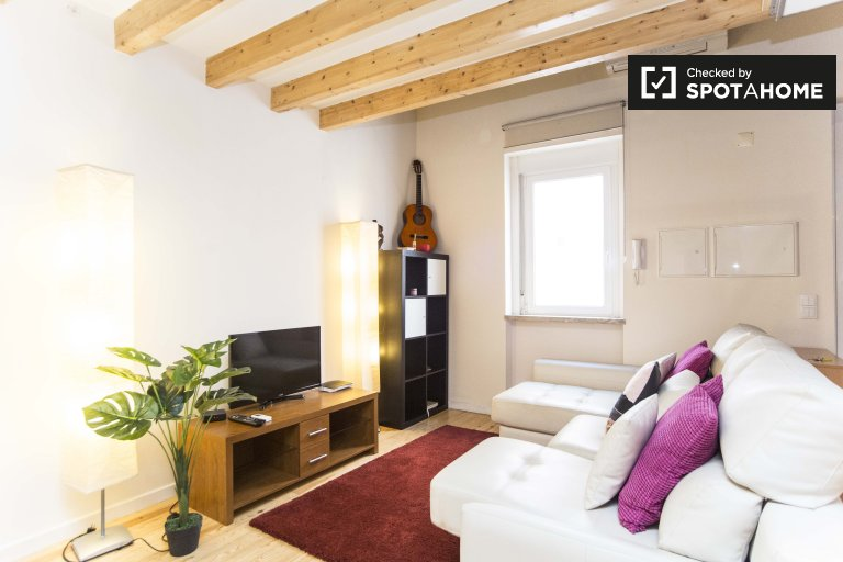 Classy studio apartment for rent in Penha de França, Lisbon
