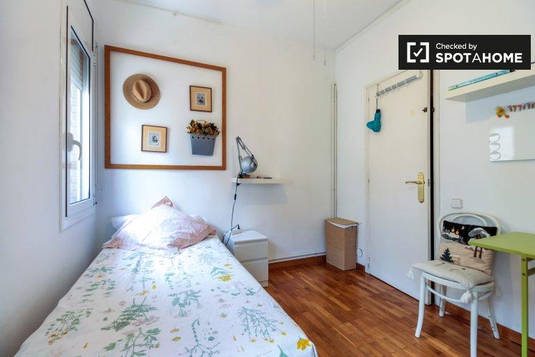 Chambre moderne à louer à Gràcia, Barcelone