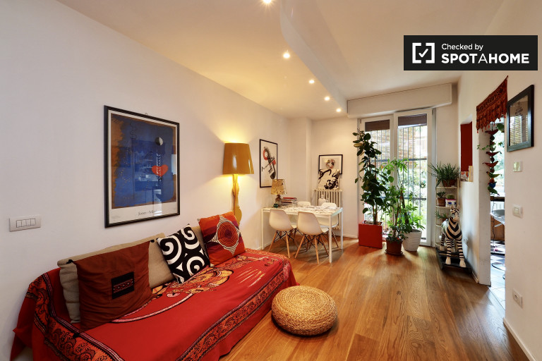 Stylish 1-bedroom apartment for rent in Bovisa