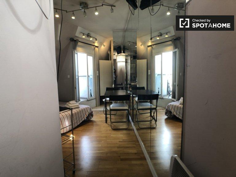 Bonito apartamento de estúdio para alugar no 16º arrondissement, Paris