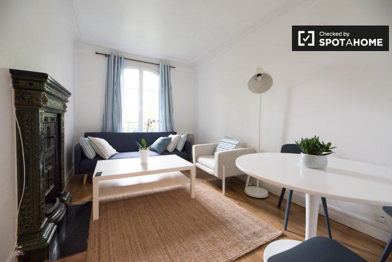 Accogliente appartamento con 2 camere da letto in affitto nel 15 ° arrondissement, Parigi
