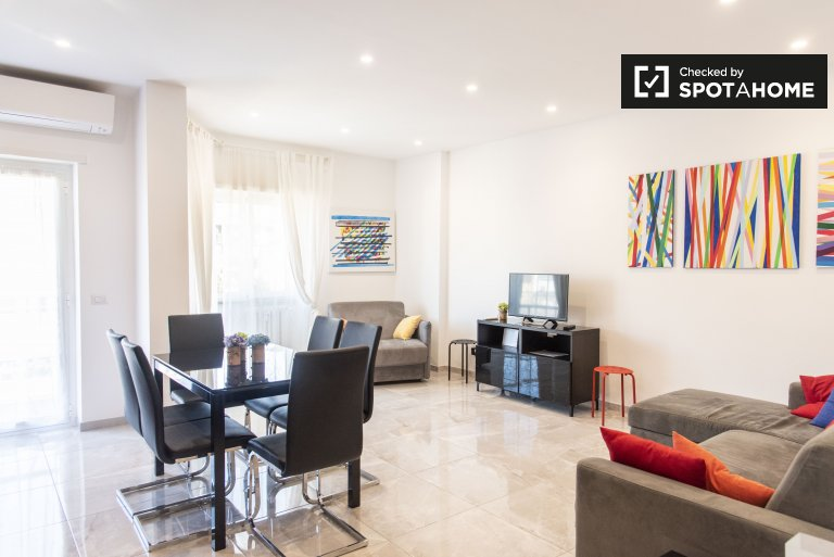 Gorgeous 1-bedroom apartment for rent in Aurelio, Rome