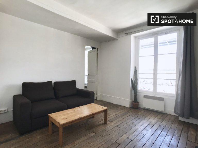 Accogliente appartamento con 1 camera da letto in affitto nel 3 ° arrondissement, Parigi
