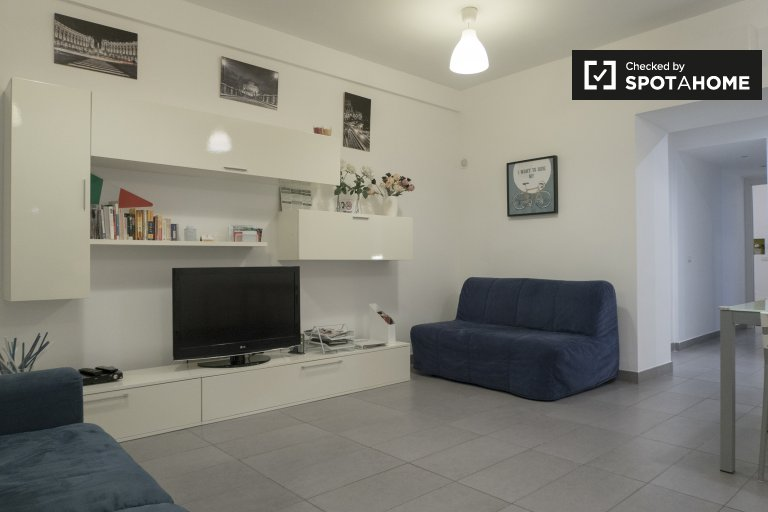 Modern 1-bedroom apartment for rent in Centro Storico, Rome